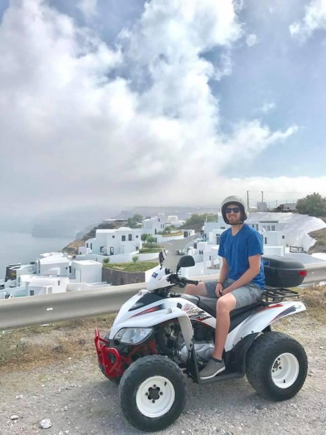 Santorini Quad Island Europe